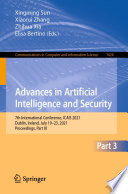Advances in Artificial Intelligence and Security