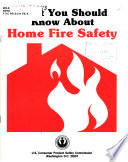 What You Should Know about Home Fire Safety Book