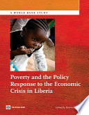 Poverty And The Policy Response To The Economic Crisis In Liberia Book PDF
