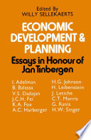 Economic Development and Planning  : Essays in Honour of Jan Tinbergen