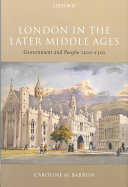 London in the Later Middle Ages