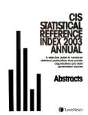Statistical Reference Index     Annual