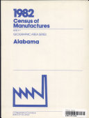 1982 Census Of Manufactures
