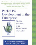 Pocket PC Development in the Enterprise