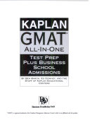 Kaplan Gmat All In One Book