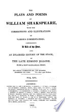 The Plays and Poems of William Shakspeare