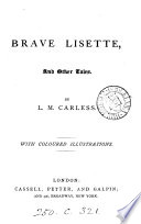 Brave Lisette  and other tales