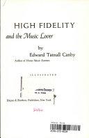 High Fidelity Pdf/ePub eBook
