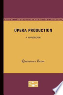Opera Production Book PDF