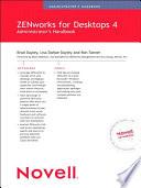 Novell ZENworks for Desktops 4 Administrator's Handbook