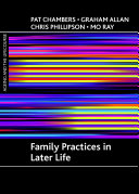 Family Practices in Later Life