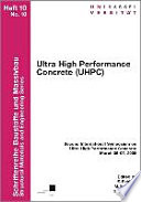 Ultra High Performance Concrete