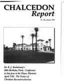 Chalcedon Report