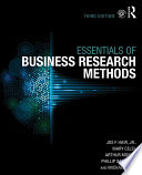 The Essentials Of Business Research Methods Book