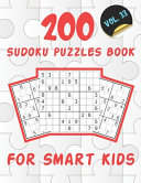 200 Sudoku Puzzles Book For Smart Kids VOL 33