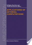 Applications Of Interval Computations Book PDF