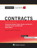 Casenote Legal Briefs for Contracts Keyed to Farnsworth  Sanger  Cohen  Brooks  and Garvin