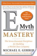 E Myth Mastery Book