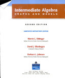 Intermediate Algebra Graphs And Models [Pdf/ePub] eBook