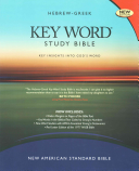 The Hebrew greek Key Word Study Bible