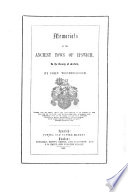 Memorials of the Ancient of Ipswich, in the County of Suffolk