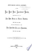 Annual Report of the New York State Agricultural Society