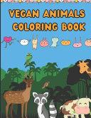 Vegan Animals Coloring Book