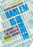 Harlem is Nowhere Book PDF