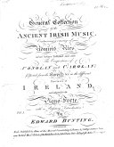 A General Collection of the Ancient Irish Music,