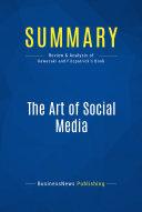 Summary  The Art of Social Media