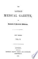The London Medical Gazette Book PDF