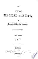 The London Medical Gazette Book
