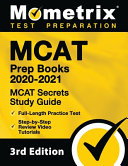 MCAT Prep Books 2020 2021   MCAT Secrets Study Guide  Full Length Practice Test  Step By Step Review Video Tutorials   3rd Edition