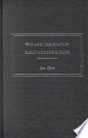 War and the State in Early Modern Europe Book