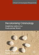 Decolonising Criminology