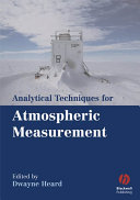 Pdf Analytical Techniques for Atmospheric Measurement Telecharger