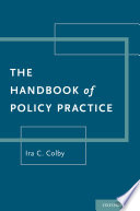 The Handbook of Policy Practice Book