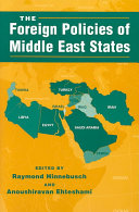 Pdf The Foreign Policies of Middle East States