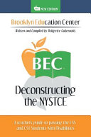 Deconstructing the Nystce A Teacher's Guide to Passing the Eas and the Cst Students With Disabilitie