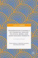 Transmission Channels of Financial Shocks to Stock, Bond, and Asset-Backed Markets Pdf/ePub eBook