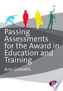 Passing Assessments For The Award In Education And Training Book PDF