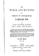The World and His Wife  Or  A Person of Consequence