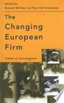 The Changing European Firm