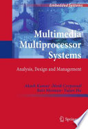 Multimedia Multiprocessor Systems Book PDF