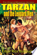 Tarzan and the Leopard Men Book