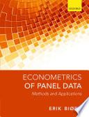 Econometrics of Panel Data