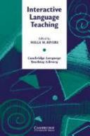 Interactive Language Teaching