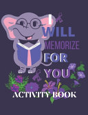 I Will Memorize for You   Activity Book