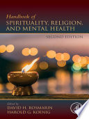 Handbook of Spirituality, Religion, and Mental Health