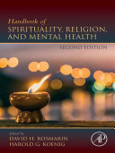 Handbook of Spirituality  Religion  and Mental Health